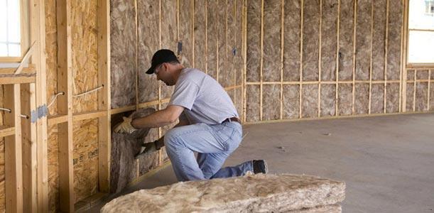 Batt Insulation & Vapour Barrier